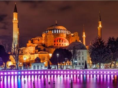 Perang Simetris Berhadiah Hagia Sophia
