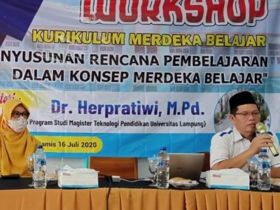 Workshop Merdeka Belajar untuk Peningkatan Kapasitas Guru
