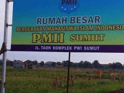 PMII Sumatera Utara Segera Miliki Rumah Besar Pergerakan
