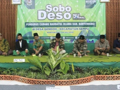 NU Banyuwangi Promosikan LP Ma'arif,  LAZISNU, dan RSNU di Sobo Deso