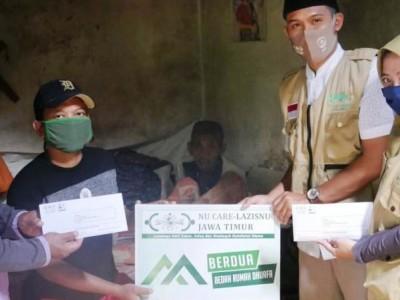 Kakek Sebatang Kara di Malang Akhirnya Miliki Rumah Bantuan LAZISNU Jatim