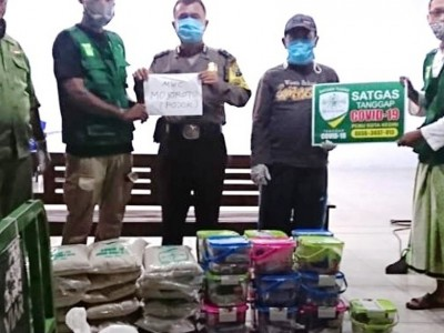 Ketua NU Kota Kediri: LAZISNU Buktikan NU Hadir Saat Pandemi