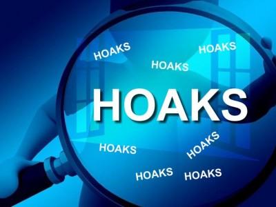 Banyak Beredar di Medsos, Berikut Tujuh Jenis Hoaks