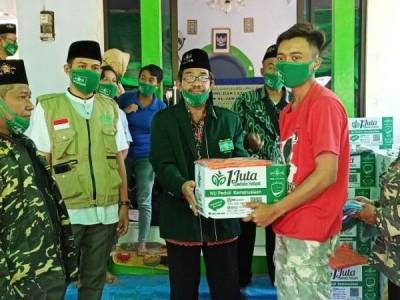 Bagikan Daging Kurban, NU Jatim Jaga Kerukunan Umat Beragama di Malang Selatan