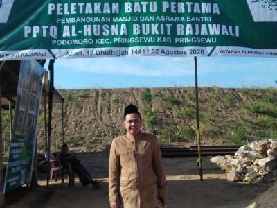 Bukit Rajawali, Lokasi Baru Pengembangan Pesantren Tahfiz Al Husna Pringsewu