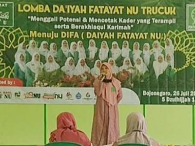 Lomba Daiyah Fatayat untuk Gali Potensi Kader di Bojonegoro