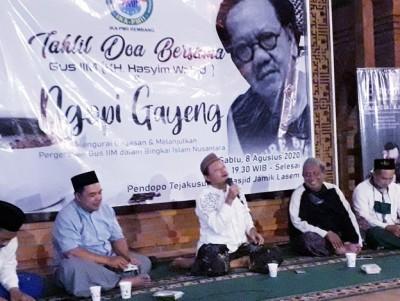 Ketua IKA PMII Rembang Sebut Gus Iim Lebih 'Gila' dari Gus Dur