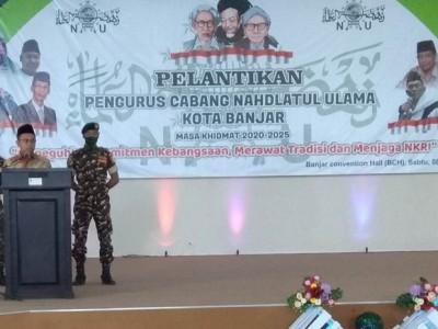 Rais PCNU Kota Banjar: Tanpa Wasilah Sesuatu Tidak Bisa Terwujud