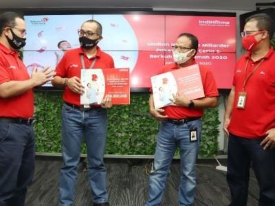 Telkom Berikan Apresiasi kepada Pelanggan IndiHome