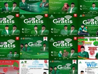 GP Ansor Canangkan Gerakan Nasional WiFi Gratis untuk Pelajar