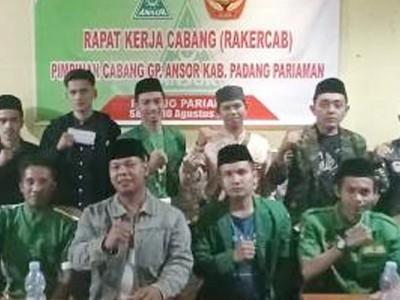 Perkuat Pemahaman Aswaja An-Nahdliyah, Ansor Padang Pariaman Gelar Konsolidasi