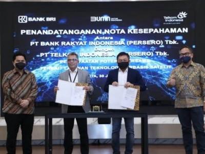 Kolaborasi dengan Perbankan, Telkom Tingkatkan Layanan Satelit