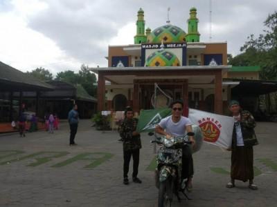 Banser Riau Bersepeda Motor 40 Hari Keliling Jawa dan Madura