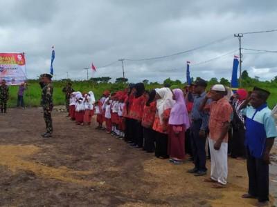 Melihat Pelaksanaan Upacara HUT RI Masyarakat Suku Kokoda di Papua Barat