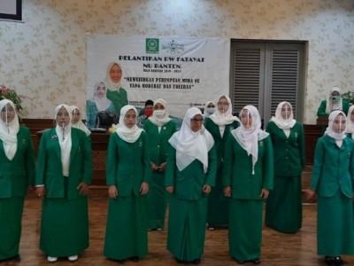 Lantik Fatayat NU Banten, Anggia Ermarini Ingatkan Peran Strategis Perempuan