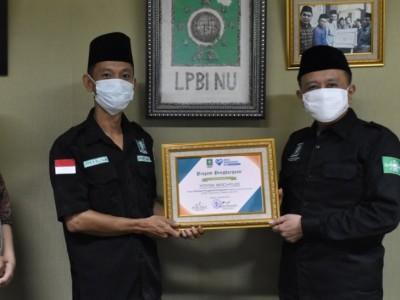 LPBINU Beri Penghargaan Relawan Covid-19