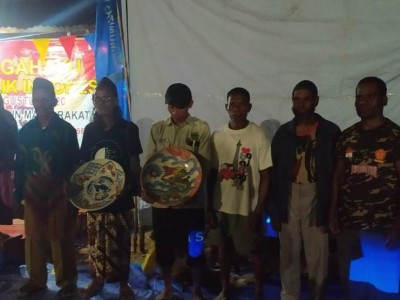 Malam Puncak Peringatan HUT RI di Pedalaman Papua