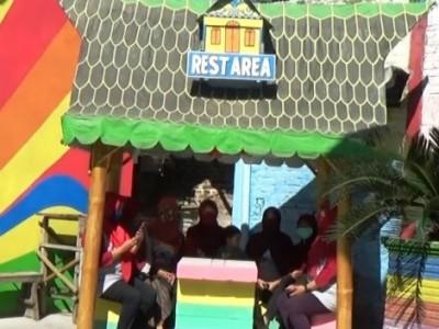 Melihat 'Kampung Pelangi' Kreasi NahdliyindiSidoarjo