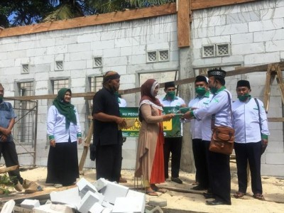Sekolah Nyaris Roboh, LAZISNU Kabupaten Malang Galang Bantuan