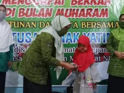 Raih Berkah Muharram, Muslimat NU Jepara Santuni Ratusan Anak Yatim