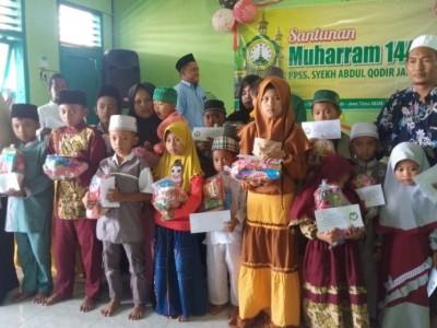 Pesantren Syekh Abdul Qadir Jailani Situbondo Awali Muharram dengan Santunan Yatim