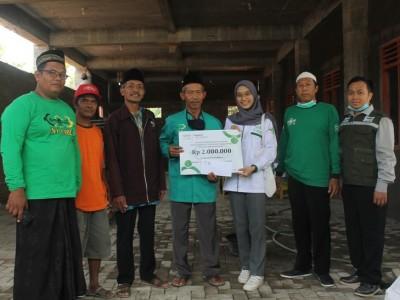LAZISNU Yogyakarta Salurkan Bantuan Pembangunan TK Masyithoh Palbapang, Bantul