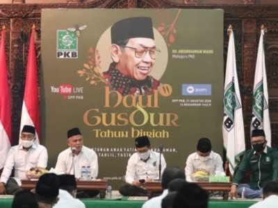 Masyarakat dan Legislator PKB Gelar Haul Ke-11 Gus Dur Tahun Hijriah