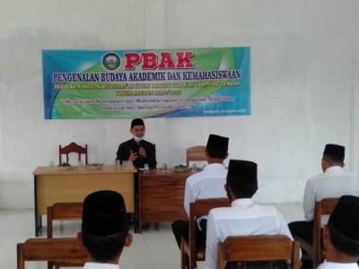 Mahasiswa Stisda Lampung Harus Jaga Karakter Santri