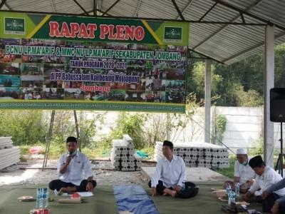 Meski Pandemi Corona, Ma'arif NU Jombang Bertekad Optimalkan Program Kerja