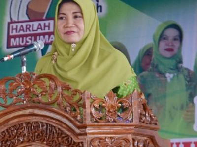 Aklamasi, Hj Ani Fitriani Pimpin Kembali Muslimat NU Pringsewu