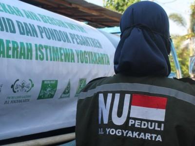 NU Care DIY Salurkan Air Bersih ke Pesantren Al Imdad 2 Bantul