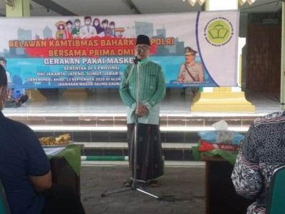 Jaga Masyarakat dari Sanksi, Polri Gaungkan Tertib Bermasker di Semarang