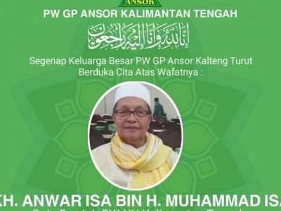 Innalillahi, Rais Syuriah PWNU Kalteng Kiai Anwar Isa Wafat