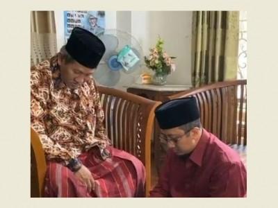 Sowan Kiai Najib Krapyak, Ustadz Yusuf Mansur Setor Baca Al-Qur'an