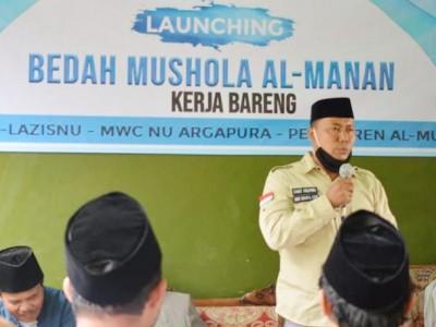 Gandeng LAZISNU, MWCNU di Majalengka Luncurkan Program Bedah Mushala