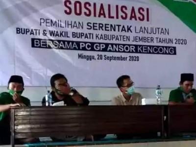 Situasi di Jember Memanas, GP Ansor Sosialisasikan Politik Santun