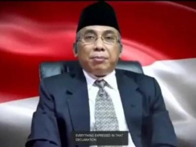 Gus Yahya Tegaskan Komitmen Persaudaraan Global dalam Majelis Umum PBB
