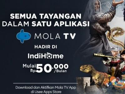 Berbagai Tayangan Liga Bergengsi Hadir di Mola TV App di IndiHome