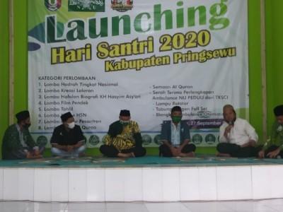 Semaan Al-Qur'an Warnai Peluncuran Kegiatan Hari Santri di Pringsewu
