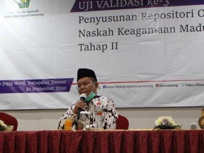 BLA Semarang Temukan 450 Naskah Keagamaan di Madura