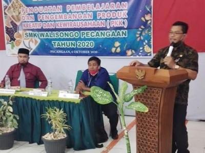 Siswa SMK Wali Songo Pecangaan Jepara Dilatih Wirausaha