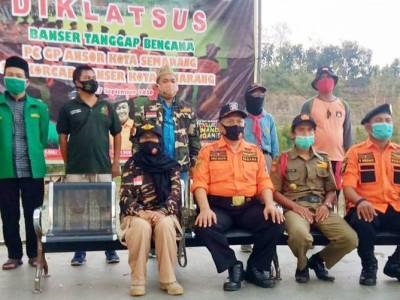 Waspadai Musim Hujan, Bagana Kota Semarang Latihan SAR Air