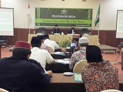 Pelatihan Dai Media, NU Jateng Lengkapi Dakwah Manual dengan Dakwah Digital
