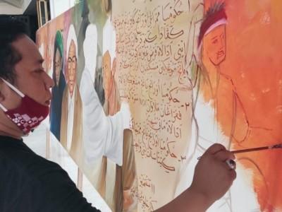 Meneguhkan Nilai-nilai Sejarah Resolusi Jihad melalui Tangan para Seniman