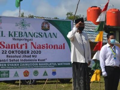Ketua NU Melawi Sebut Pesantren Miniatur Masyarakat