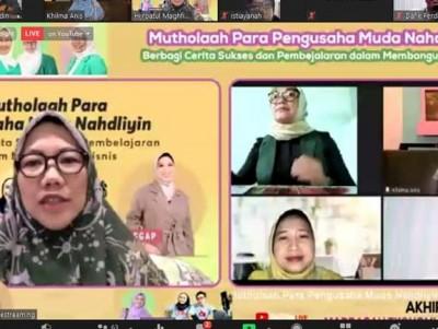 Madrasah Ekonomi Perempuan Fatayat NU Bincang Kiat Sukses Berbisnis