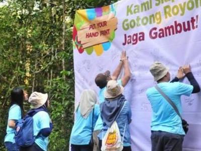 BRG Perkuat Peran Anak Muda untuk Pulihkan Ekosistem Gambut