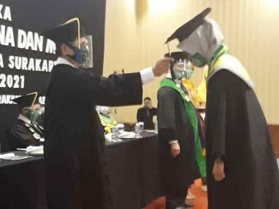 Lulusan UNU Surakarta Diminta Jadi Ilmuwan yang Berbudaya
