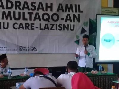 Optimalkan Zakat, LAZISNU Banyuwangi Gelar Madrasah Amil dan Multaqo-an