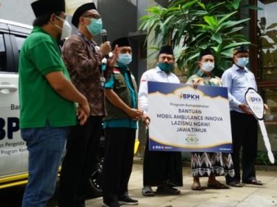 Bantuan Ambulans NU Care Maksimalkan Layanan Warga Ngawi